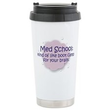 Med School Boot Camp Ceramic Travel Mug