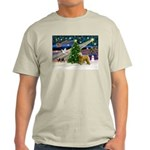 XmasMagic/Wheaten (#2) Light T-Shirt