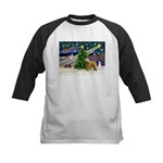XmasMagic/Wheaten (#2) Kids Baseball Jersey