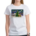 XmasMagic/Wheaten (#2) Women's T-Shirt
