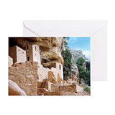 Cute Mesa verde national park Greeting Card