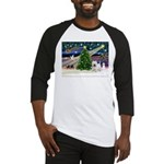 Xmas Magic & Westie Baseball Jersey