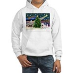Xmas Magic & Westie Hooded Sweatshirt