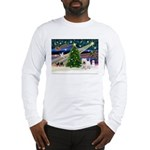 Xmas Magic & Westie Long Sleeve T-Shirt