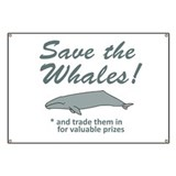 Save Whales Trade Them In Banner