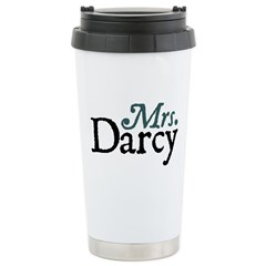 Jane Austen Mrs. Darcy Ceramic Travel Mug