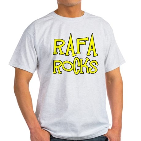 Rafa Rocks Tennis Design Light T-Shirt