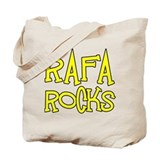 Rafa Rocks Tennis Design Tote Bag