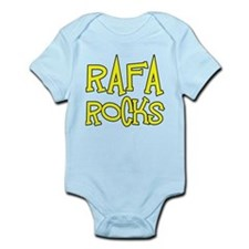Rafa Rocks Tennis Design Infant Bodysuit