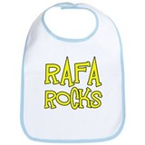 Rafa Rocks Tennis Design Bib