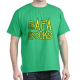 Rafa Rocks Tennis Design T-Shirt