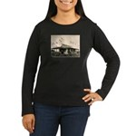 Edgemont California Women's Long Sleeve Dark T-Shi