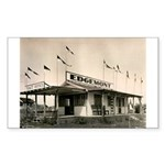 Edgemont California Rectangle Sticker