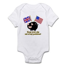 Pig out of Potatoes Infant Bodysuit