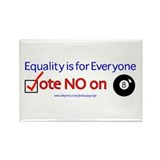 No on 8 Rectangle Magnet (100 pack)