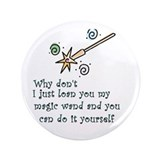 "Magic Wand 3.5"" Button"