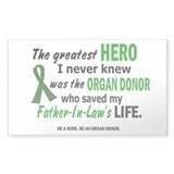 Hero I Never Knew 1 (Father-In-Law) Decal
