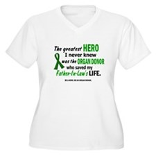 Hero I Never Knew 1 (Father-In-Law) T-Shirt