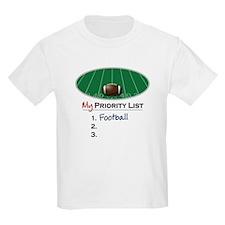 Priority Football T-Shirt