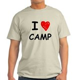 I Heart Camp T-Shirt