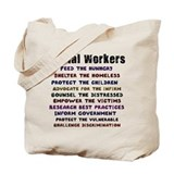 Social Workers WorkTote Bag