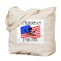 American Pirate Tote Bag