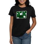 It Takes Balls Women's Violet T-Shirt