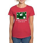 It Takes Balls Women's Red T-Shirt