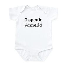 I speak Annelid Infant Bodysuit