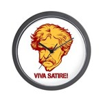 Twain Viva Satire Wall Clock