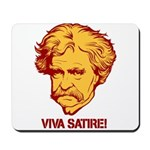 Twain Viva Satire Mousepad