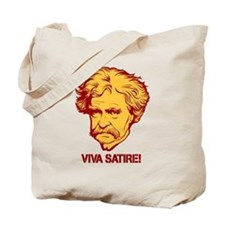 Twain Viva Satire Tote Bag