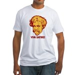Twain Viva Satire Fitted T-Shirt