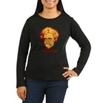 Twain Viva Satire Women's Long Sleeve Dark T-Shirt