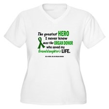 Hero I Never Knew 1 (Granddaughter) T-Shirt