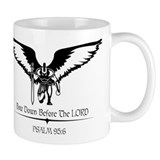 bow down before the Lord Small Mug