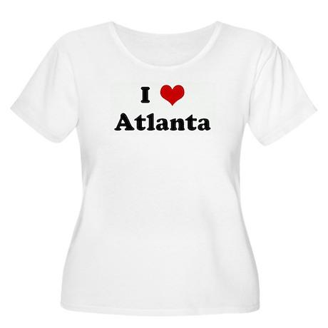 I Love Atlanta Women's Plus Size Scoop Neck T-Shir