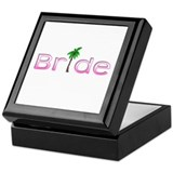 Bride (Palm, Pink) Keepsake Box