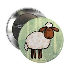"peace love sheep 2.25"" Button"