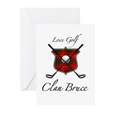 Bruce - Love Golf - Greeting Cards (Pk of 10)