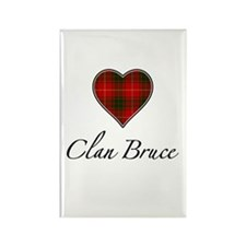 Love Clan Bruce Rectangle Magnet