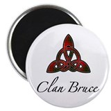 Clan Bruce Celtic Knot 2.25&quot; Magnet (10 pack)