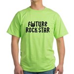 Future Rock Star Green T-Shirt