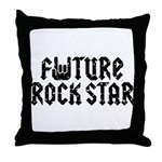 Future Rock Star Throw Pillow