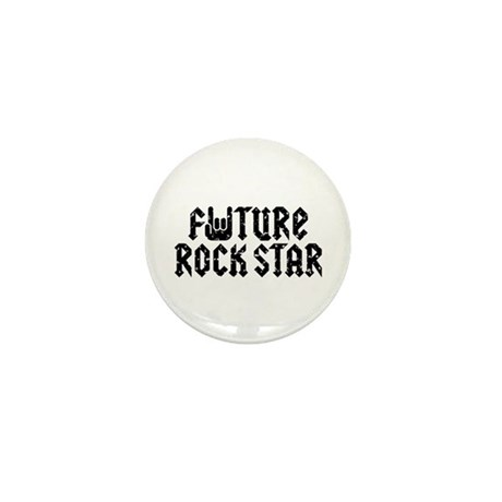 Future Rock Star Mini Button