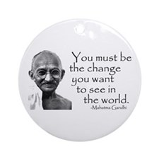 - Be the change... Keepsake (Round)