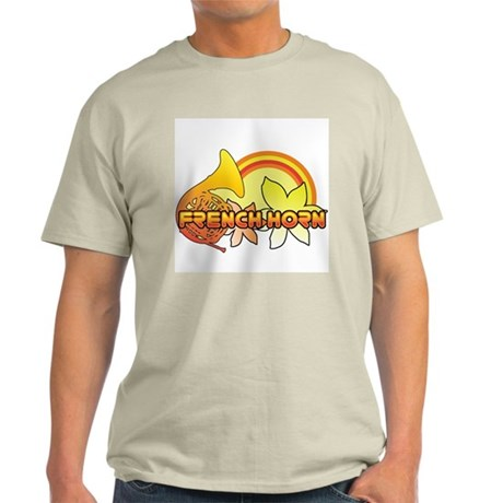 Retro French Horn Light T-Shirt