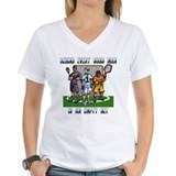 Lacrosse Players Empty Net Shirt