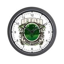 Tree Hugger Utah Wall Clock