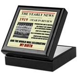 born in 1919 birthday gift Keepsake Box